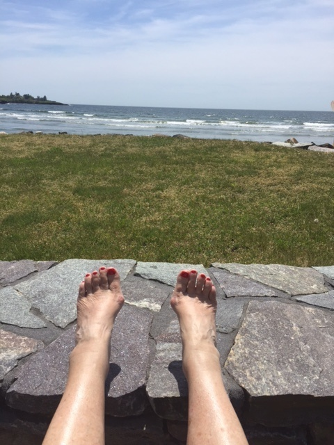 My happy Place - Higgins Beach 2017