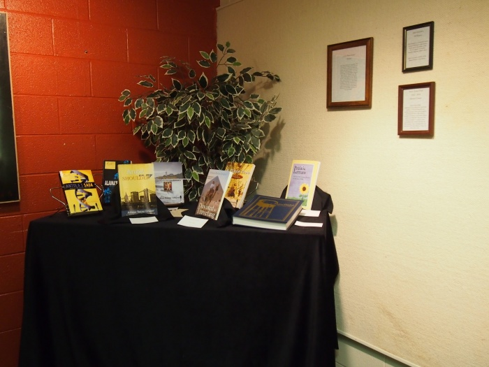 Book Display At Winfield Art & Humanities Gallery, Winfield KS