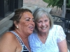 Sharing birthdays - Linda Spines and Arlene